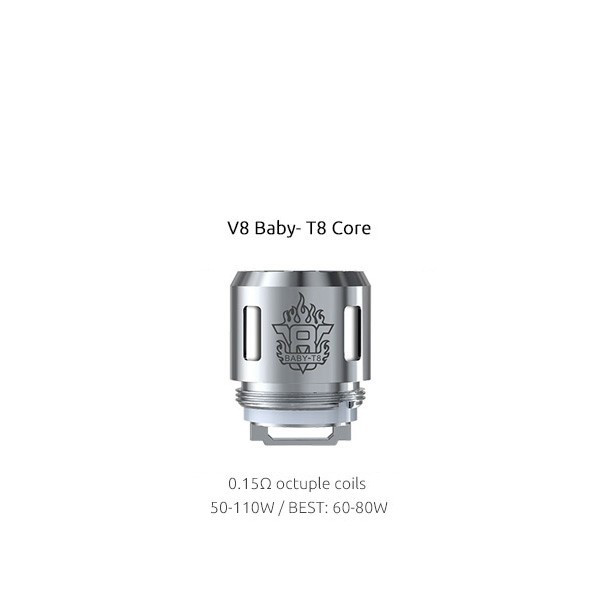 Résistance clearomiseur TFV8 Baby Smok 0.15 ohm