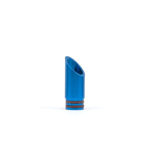 Drip Tips 510 Alu Biseau bleu