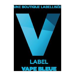 Label Vape Bleue